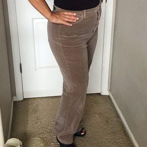 Velvety Jean style women's pants size 14